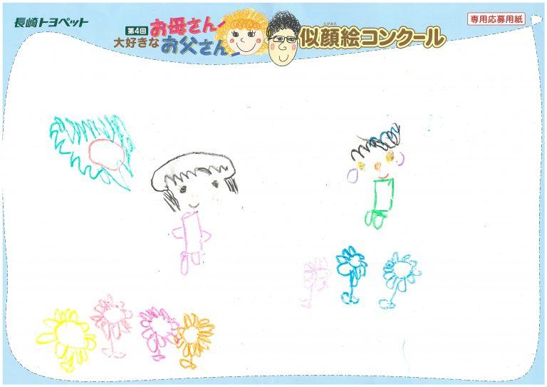 Y.Sちゃん(3才)の作品