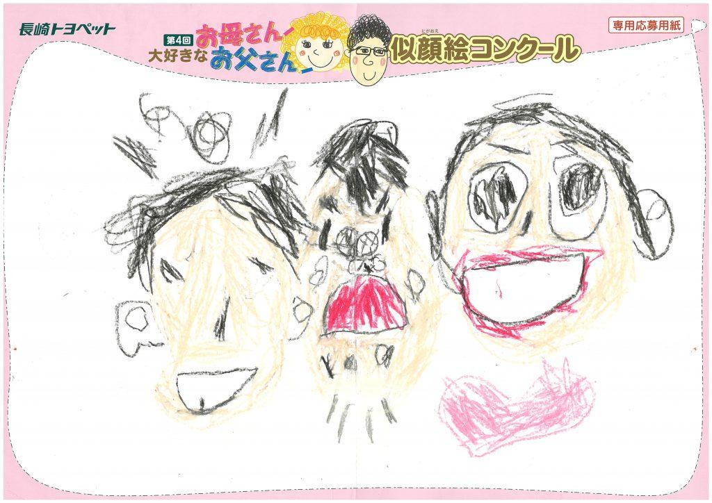 M.Iくん(5才)の作品
