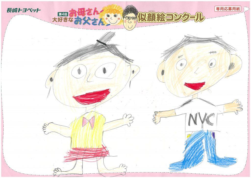 R.Kくん(8才)の作品