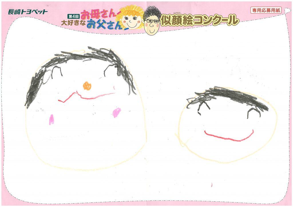 Z.Hくん(4才)の作品