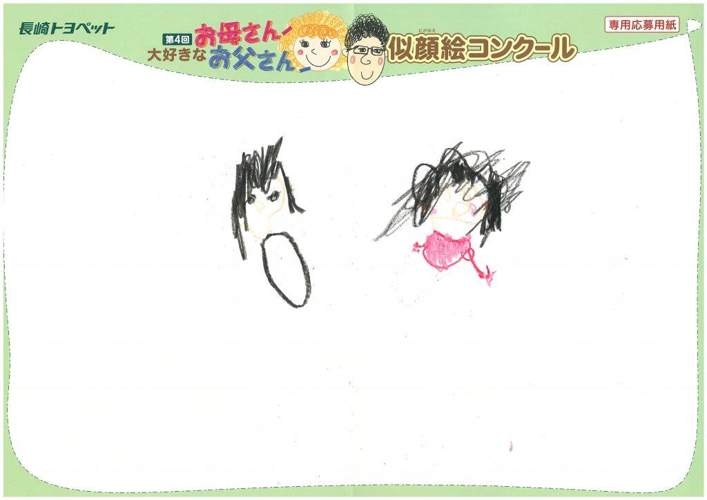 Y.Eちゃん(4才)の作品