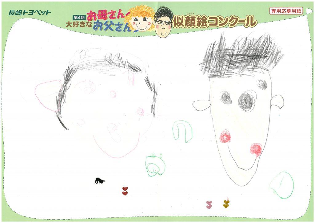 I.Nちゃん(4才)の作品