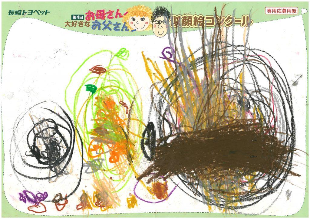 K.Nちゃん(2才)の作品
