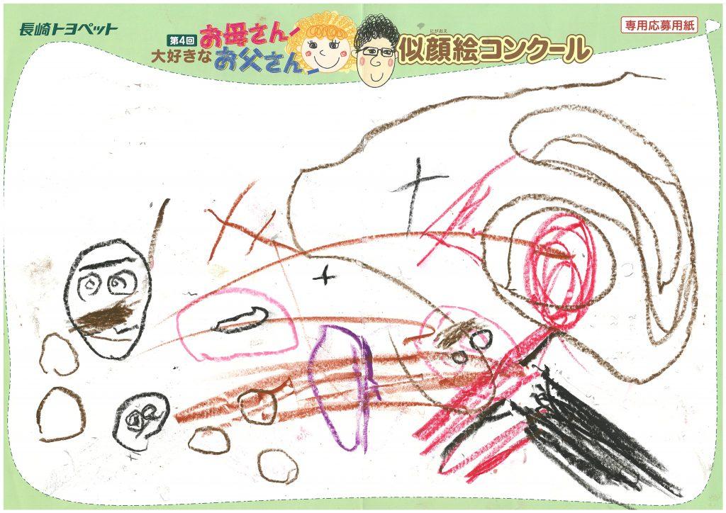 S.Nくん(4才)の作品