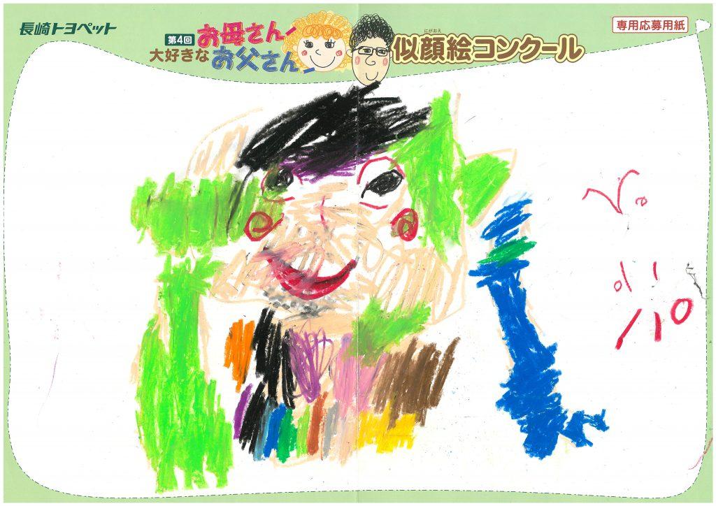 S.Oくん(4才)の作品