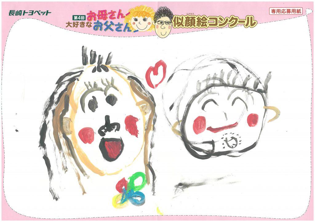 H.Mちゃん(4才)の作品