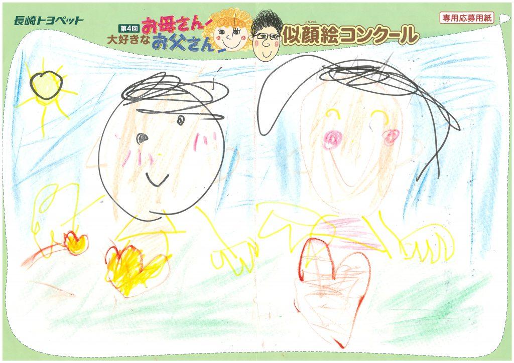 R.Kさん(5才)の作品