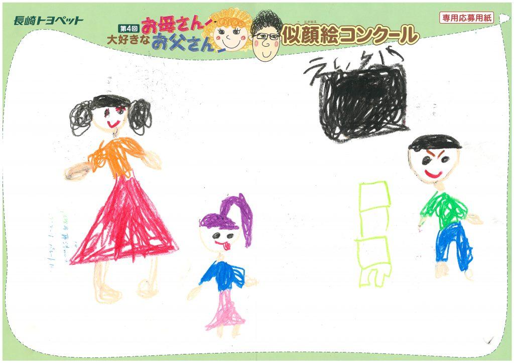 K.Mちゃん(6才)の作品