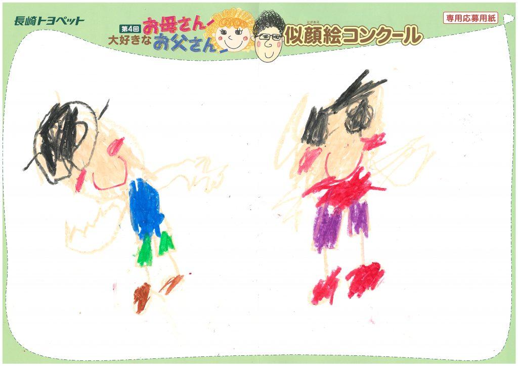 Y.Mくん(6才)の作品