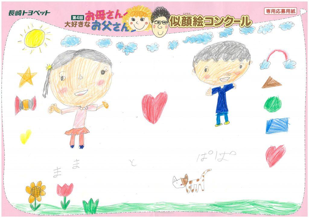R.Yちゃん(6才)の作品
