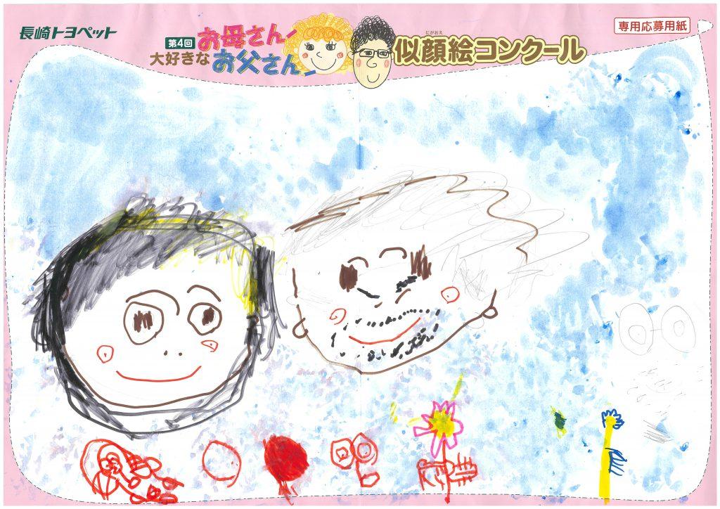 K.Oくん(4才)の作品