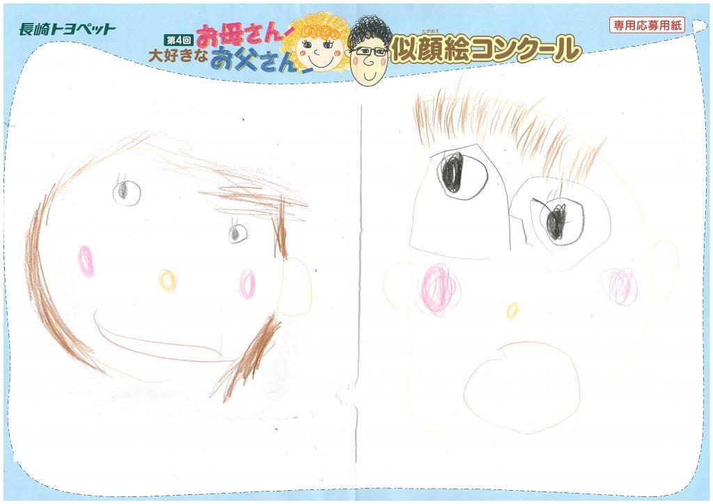 M.Kちゃん(4才)の作品