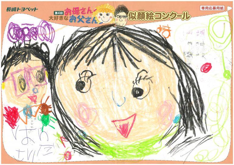 R.Hちゃん(4才)の作品