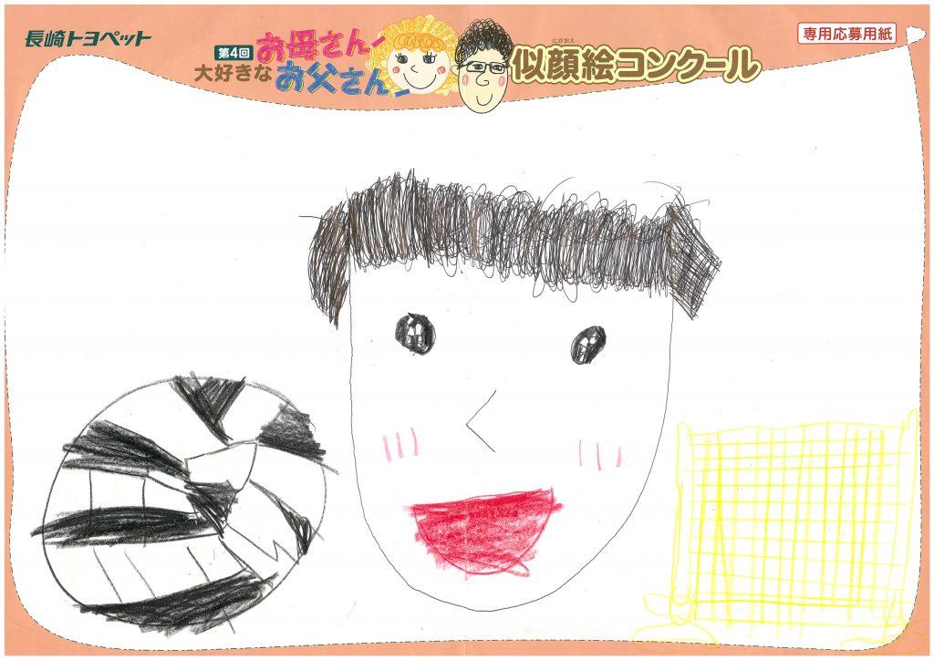 R.Tちゃん(7才)の作品