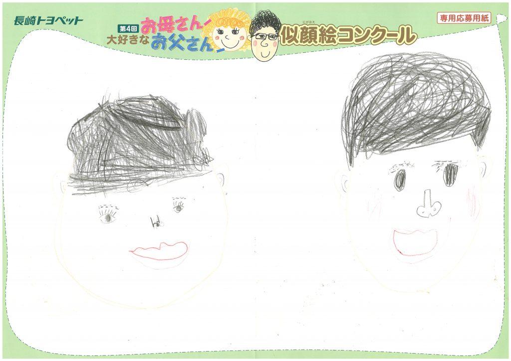I.Hちゃん(6才)の作品