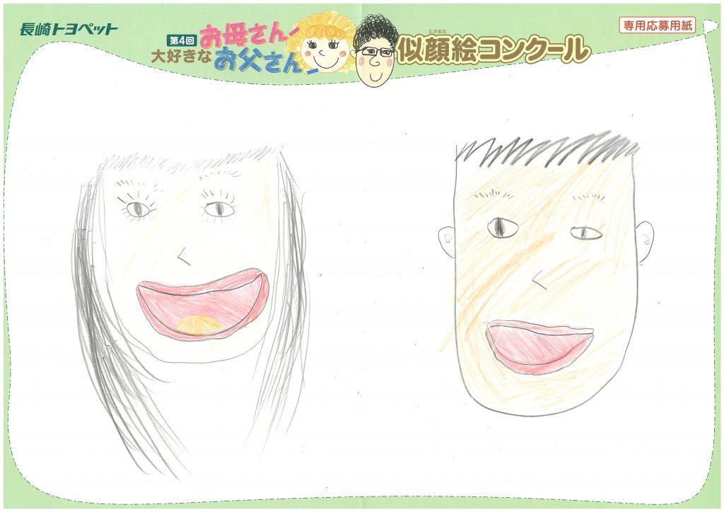 K.Tちゃん(8才)の作品