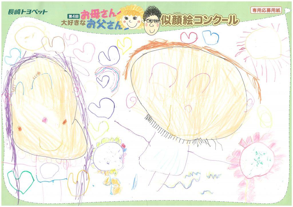 H.Kちゃん(4才)の作品