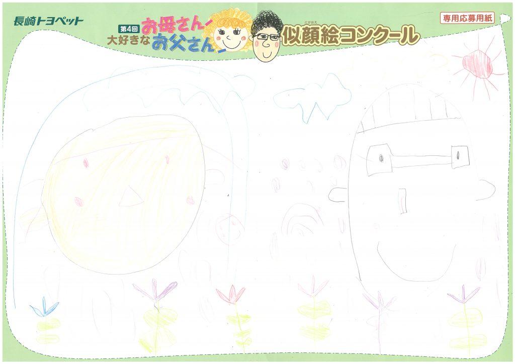 S.Uくん(5才)の作品