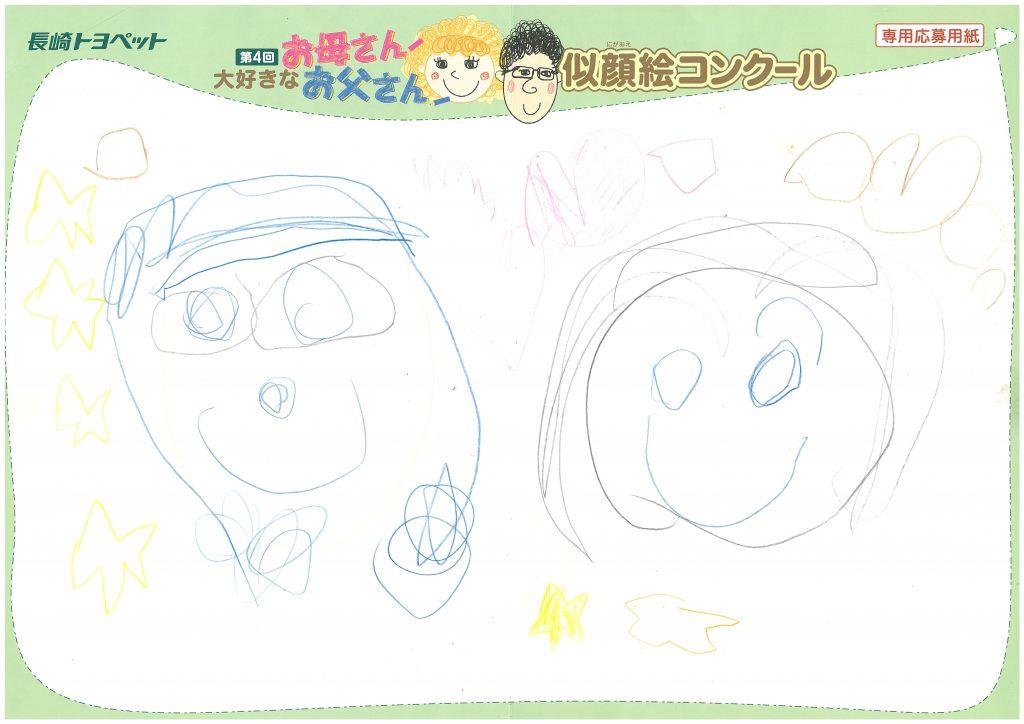 T.Nくん(4才)の作品