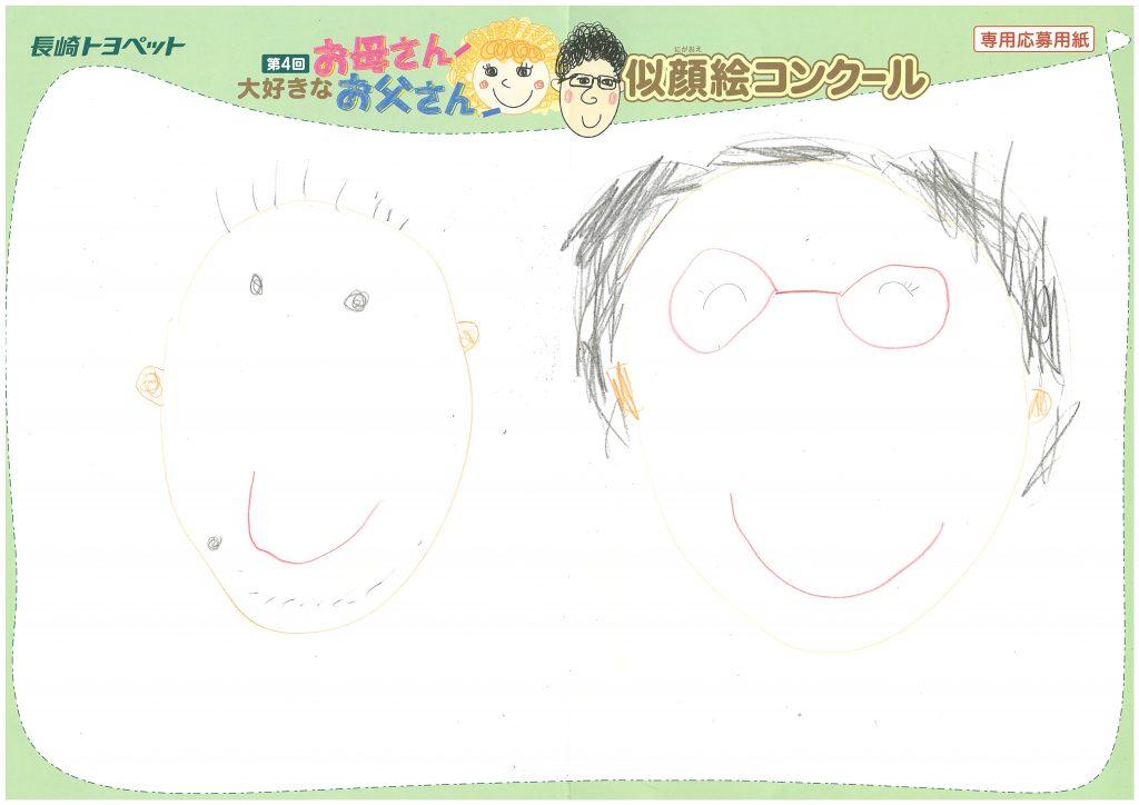 N.Hくん(5才)の作品