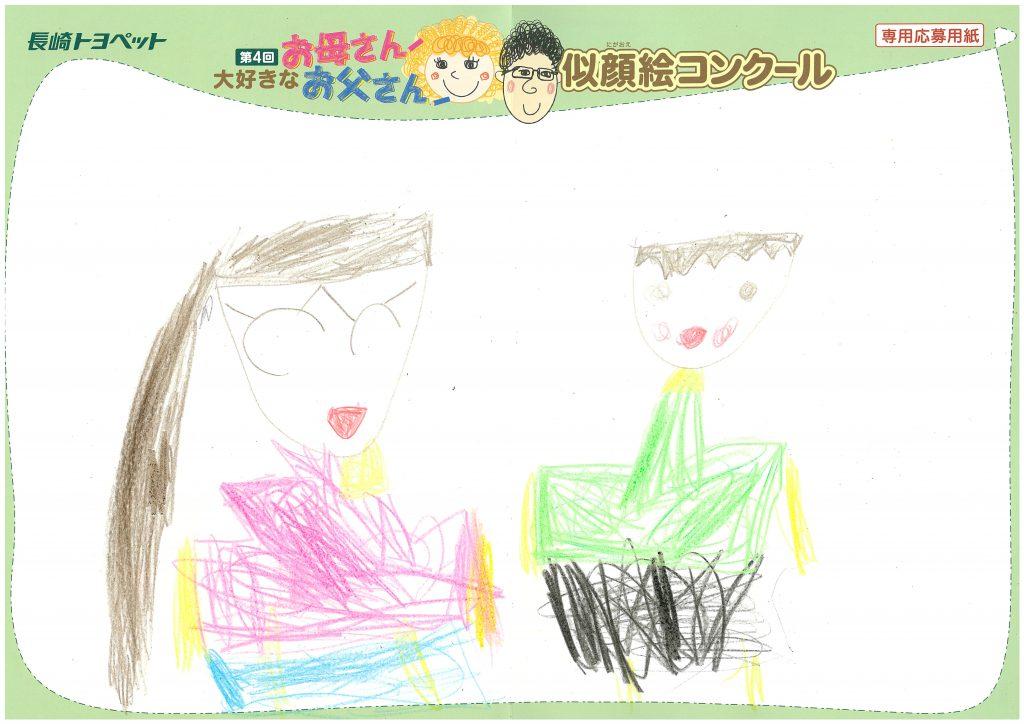 N.Hちゃん(4才)の作品