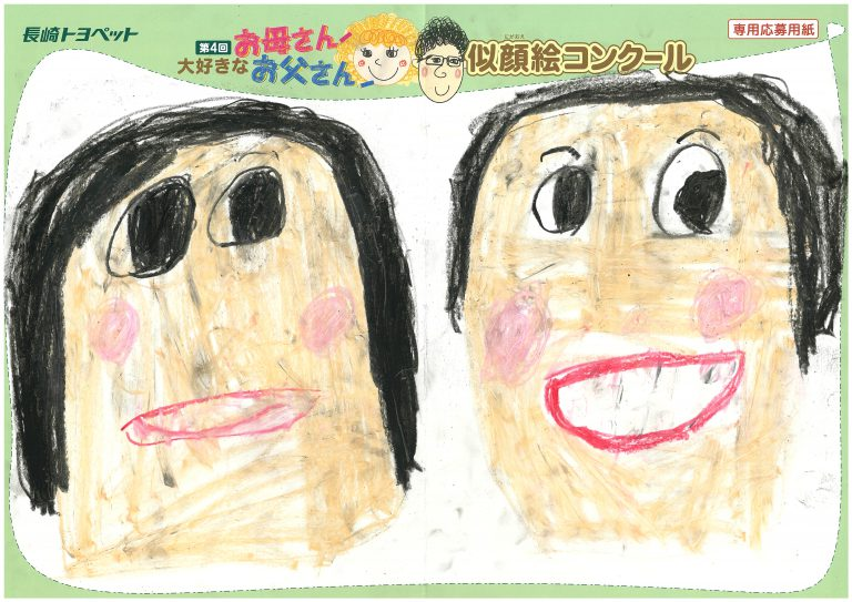 Y.Mちゃん(6才)の作品