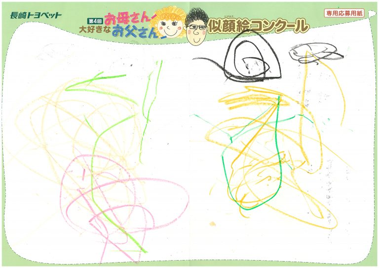 R.Kくん(1才)の作品