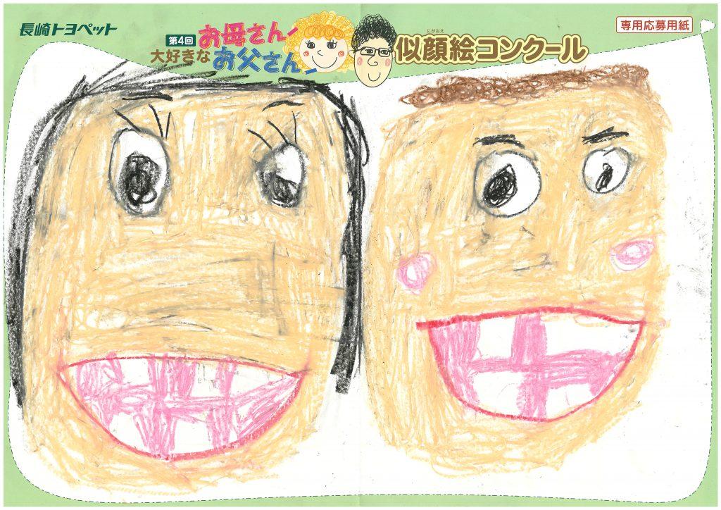 K.Kちゃん(5才)の作品