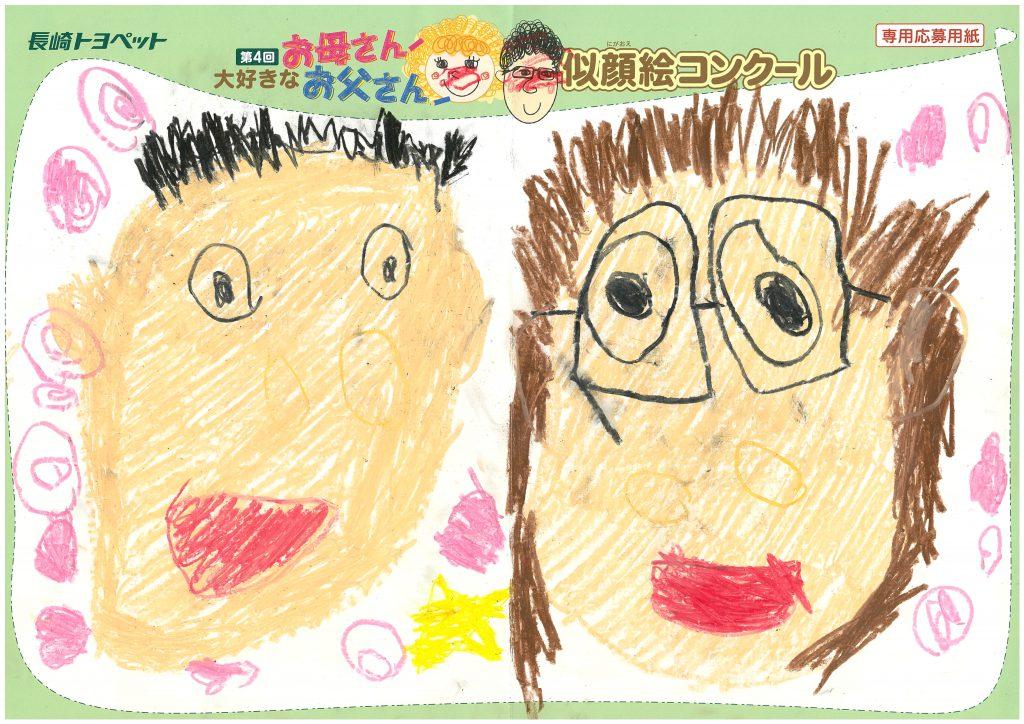 K.Kちゃん(3才)の作品