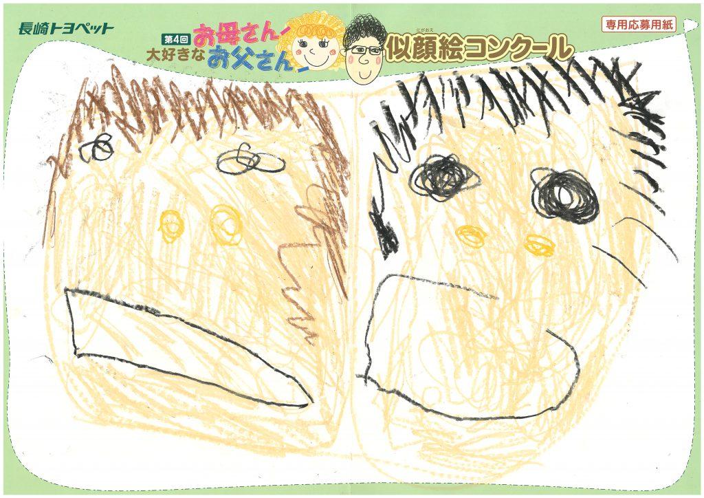 H.Kくん(3才)の作品