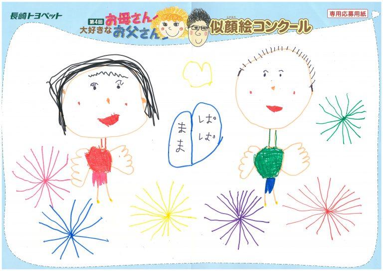R.Mちゃん(6才)の作品
