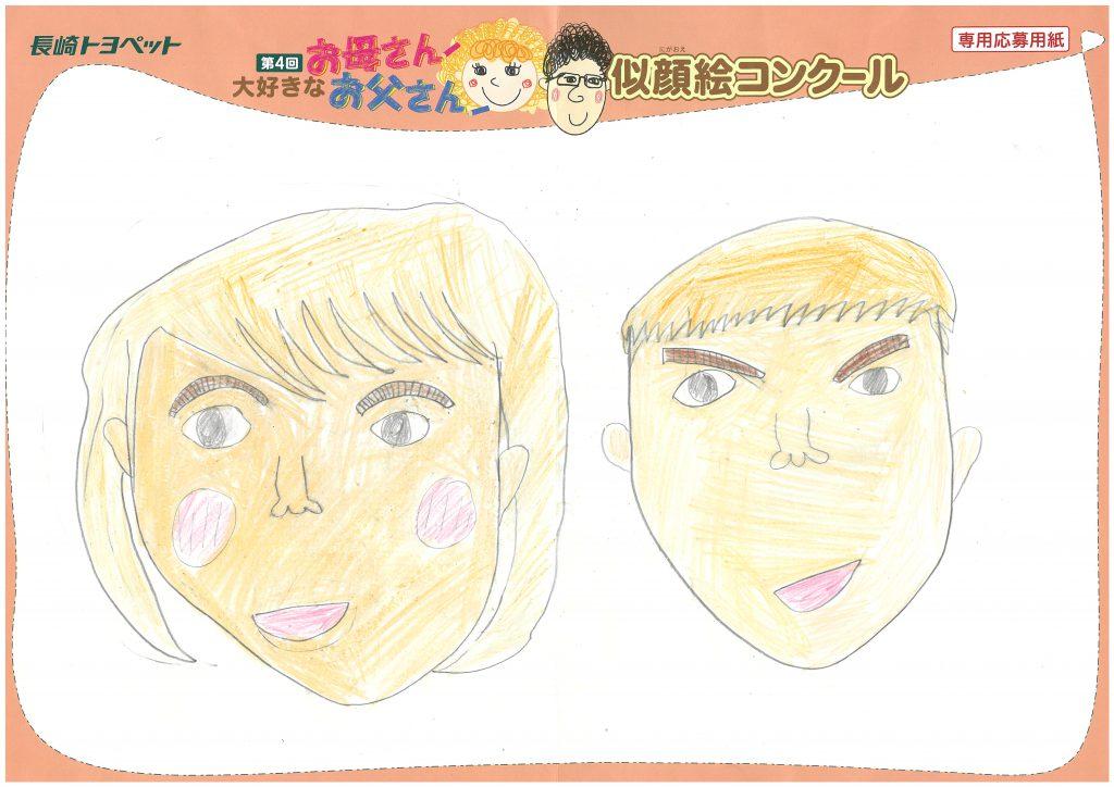 Y.Mくん(8才)の作品