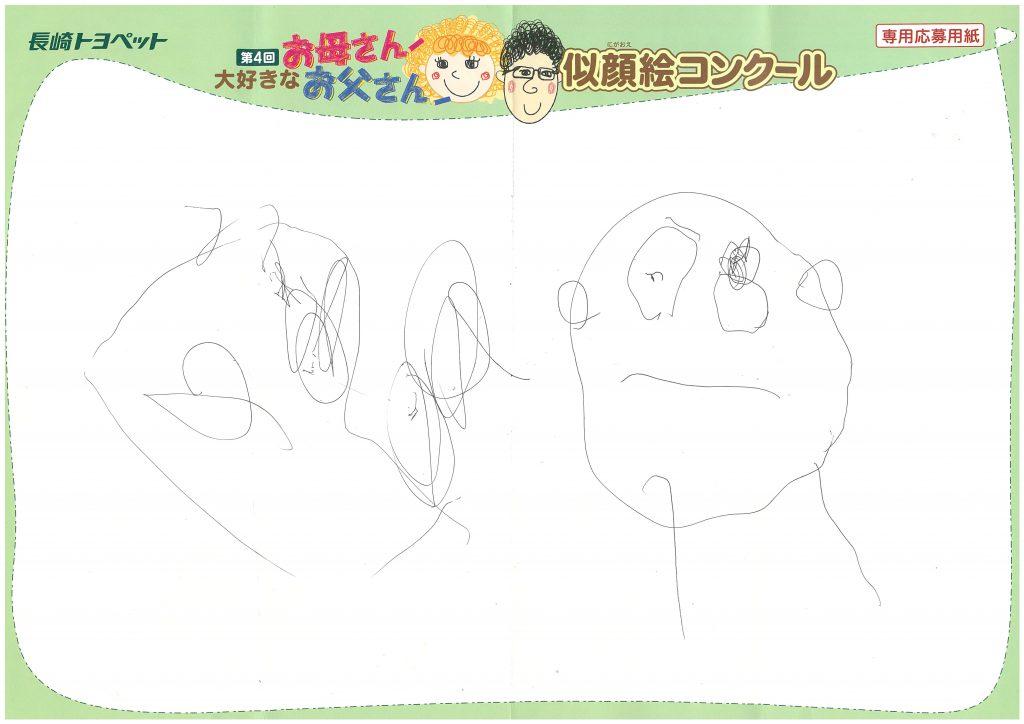 Z.Nちゃん(4才)の作品