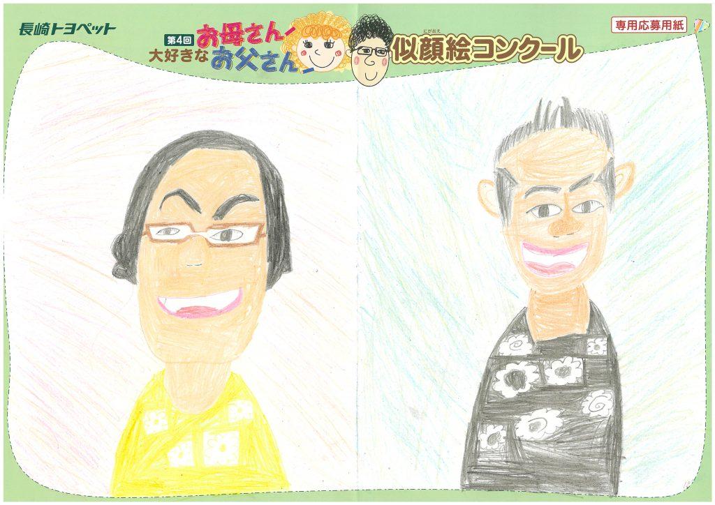 S.Eくん(8才)の作品