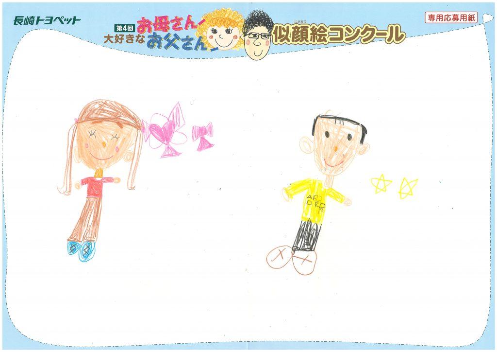 Y.Iちゃん(6才)の作品
