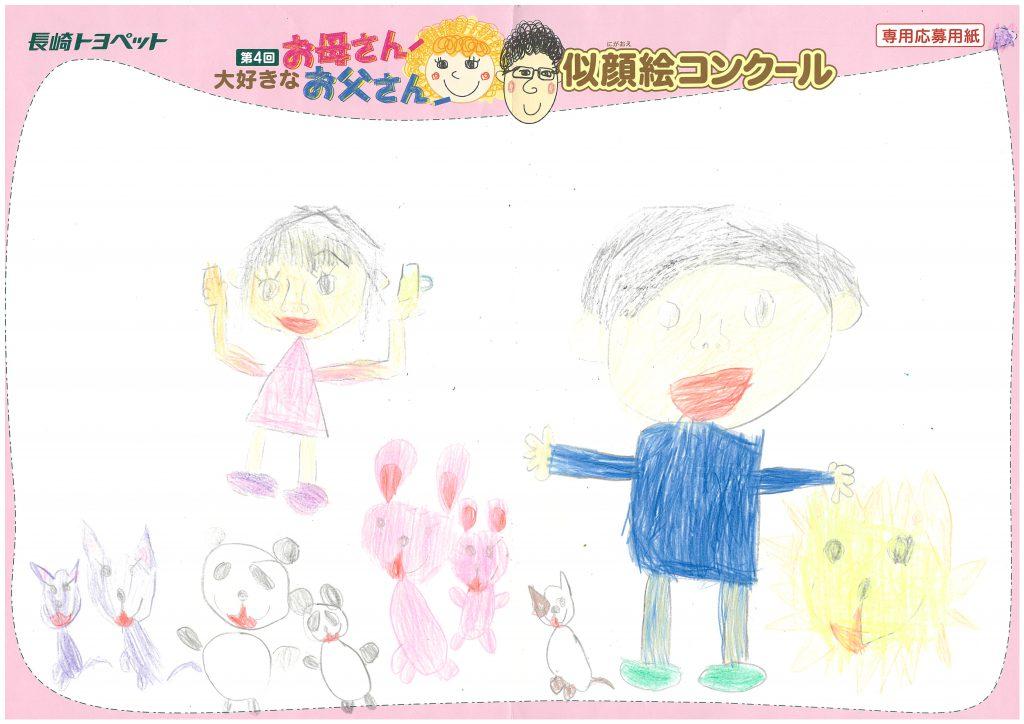 K.Yちゃん(6才)の作品