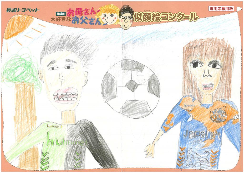 H.Mくん(11才)の作品