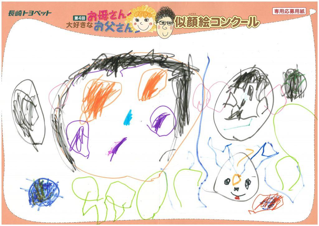 A.Mくん(4才)の作品