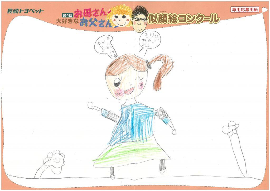 N.Hちゃん(6才)の作品