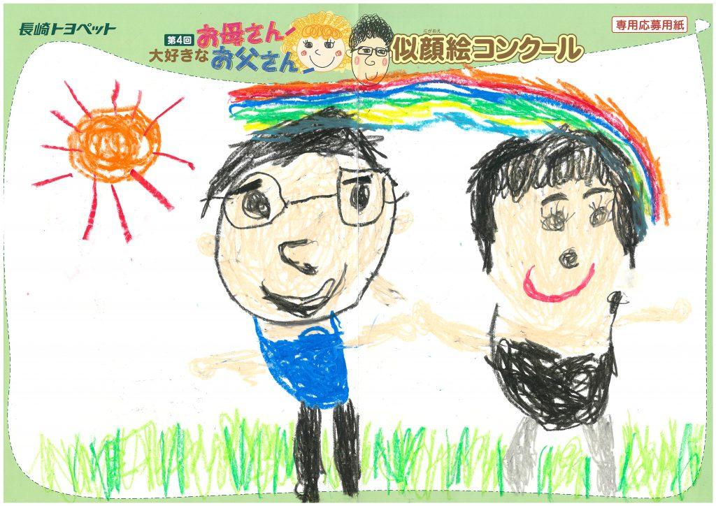 T.Hくん(5才)の作品