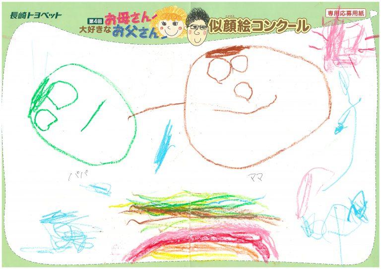 N.Hちゃん(3才)の作品