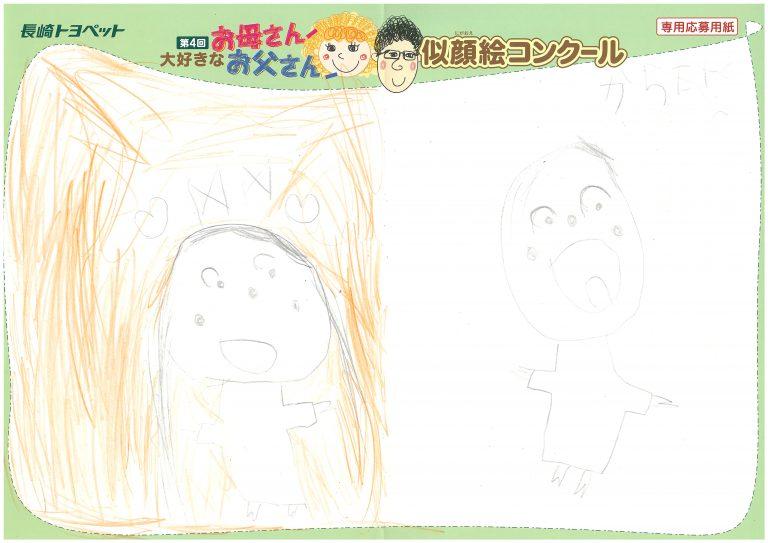 S.Kちゃん(5才)の作品