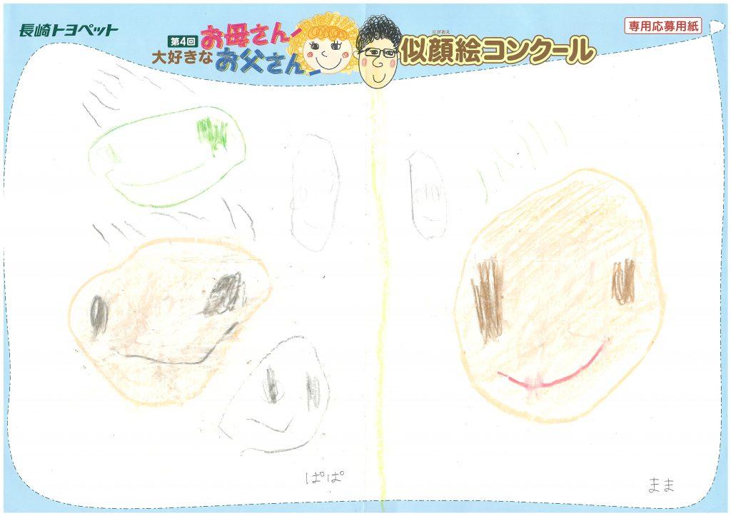 K.Aくん(3才)の作品