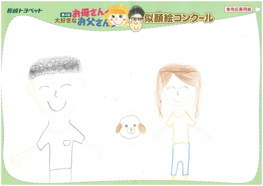 R.Iちゃん(8才)の作品