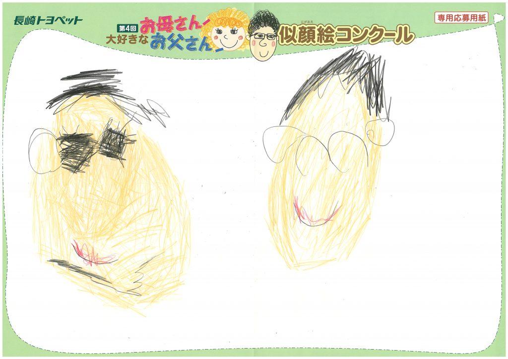 T.Yくん(4才)の作品