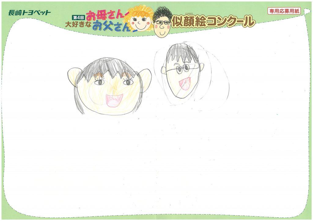 T.Kちゃん(7才)の作品