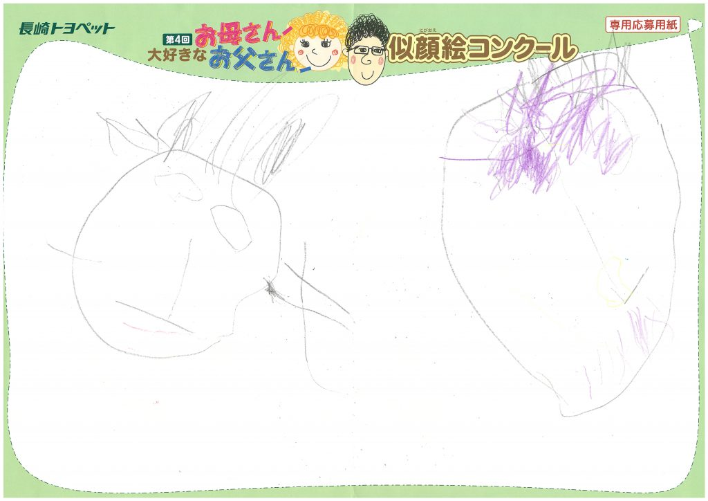 M.Yくん(2才)の作品