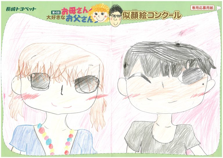K.Mちゃん(9才)の作品
