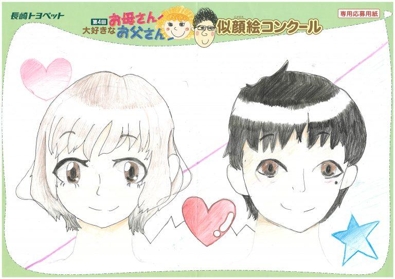 M.Mちゃん(11才)の作品