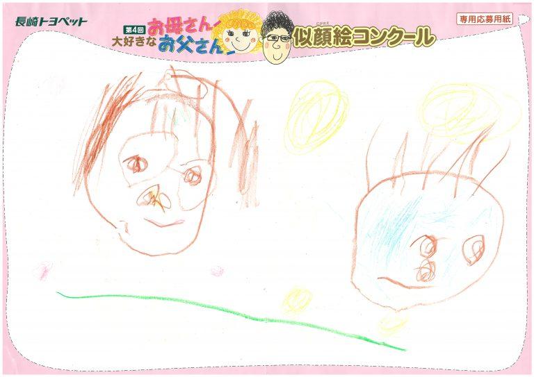 K.Hちゃん(3才)の作品